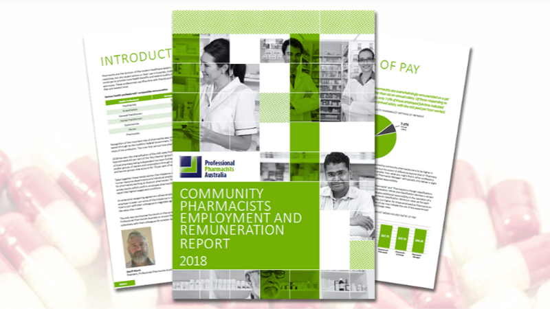 Ppa 2018 Community Pharmacists Employment And Remuneration Report