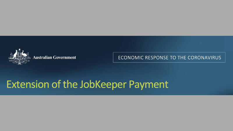 Blog Aus Gov Extension Of The Job Keeper Payment